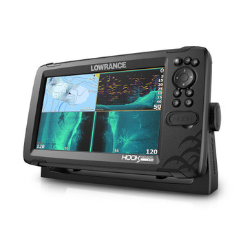 Lowrance HOOK Reveal 9 Fishfinder Tripleshot ROW