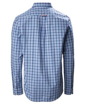 Musto Riviera Long Sleeve Shirt - Blue check