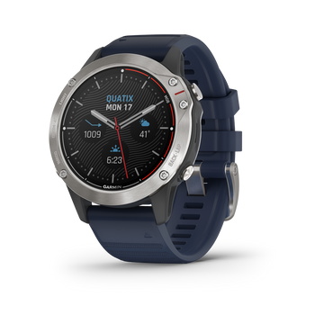 Garmin Quatix 6 watch angled
