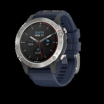 Garmin Quatix 6 watch angled
