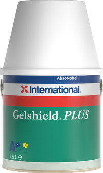 International Gelshield Plus Epoxy Primer in green