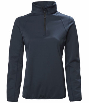 Musto Synergy 1/2 zip Microfleece Women - Black back