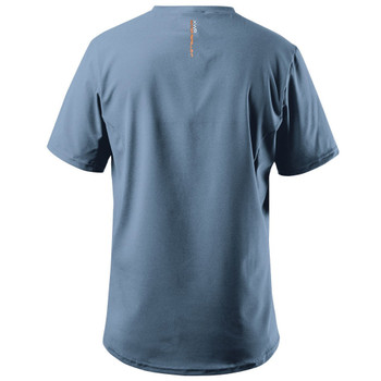 Zhik XWR Short Sleeve Top - Cool Grey - back