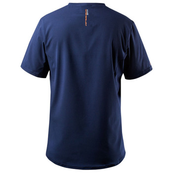 Zhik XWR Short Sleeve Top - Steel Blue - back