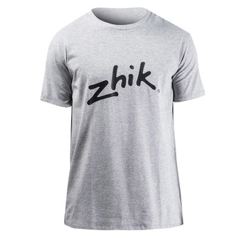 Zhik Logo Cotton Tee - Men - Grey