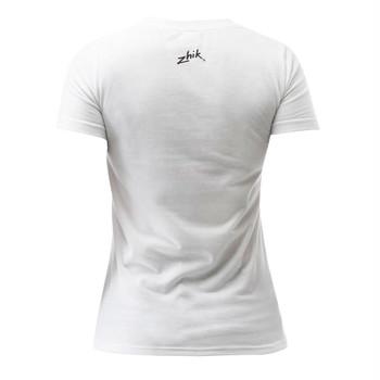 Zhik Logo Cotton Women's Tee - back