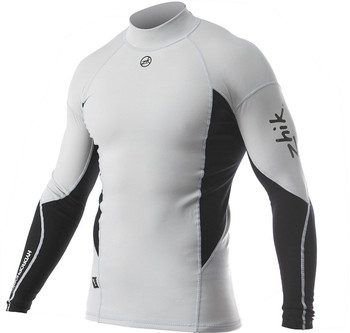 Zhik Hydrophobic Fleece Top - Grey - Mens