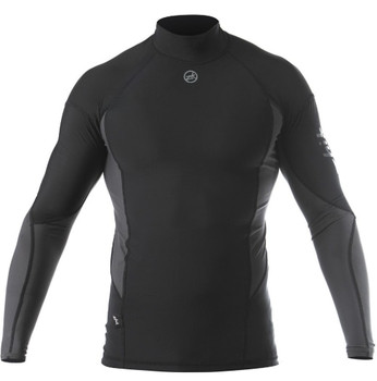 Zhik Long Sleeve Spandex Top - Mens - Black