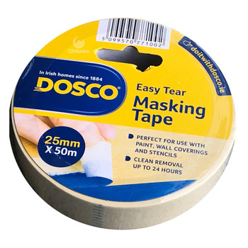 Dosco Painters Masking Tape 25mm x 50mtr