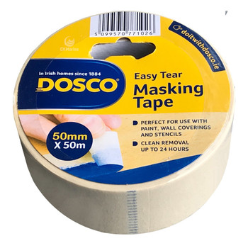 Dosco Painters Masking Tape 50mm x 50mtr