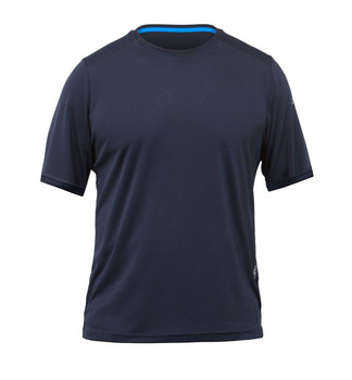 Zhik Zhikdry LT Short Sleeve Top - Mens - Navy