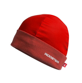 Rooster Aquafleece Beanie - Red
