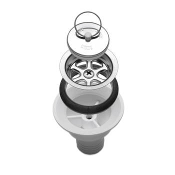 Dometic - SMEV Sink Drain Outlet & Plug 20mm - AC545