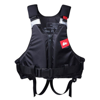 Rooster Buoyancy Aid Junior - Black - Front Zip