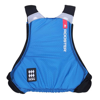 Rooster Diamond Overhead Buoyancy Aid 50N - Juniors - Signal Blue - back