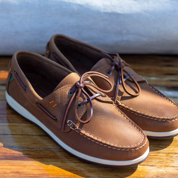 Dubarry Armada brown deck shoes