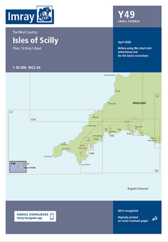 Imray Chart Y49 Isles of Scilly