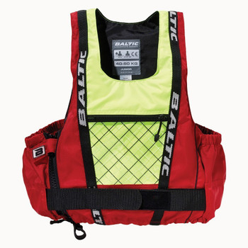 Baltic Dinghy Pro Buoyancy Aid 50N - Adult - Red/UV Yellow