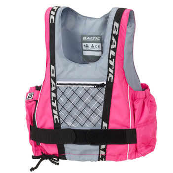 Baltic Dinghy Pro - Junior  buoyancy aid in pink-grey
