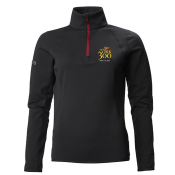 Musto Cork 300 Women's Synergy 1/2 Zip Microfleece - Black