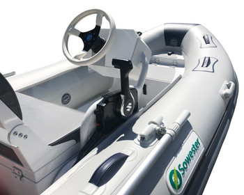 Sowester 3.5m Aluminium RIB with Console and 20hp Suzuki Boat Package