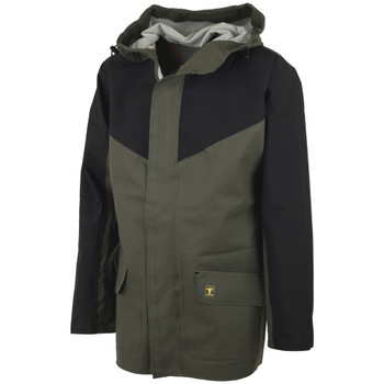 Guy Cotten Eureka Jacket in Green / Black - Front