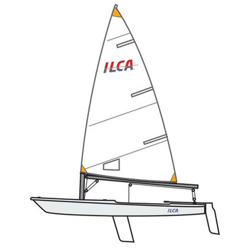 ILCA 4 Laser Dinghy by Ovingtons - Composite Top Mast