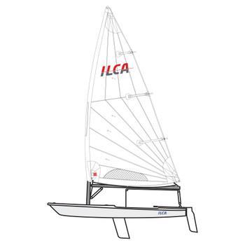 ILCA 7 Laser Dinghy by Ovingtons - Composite Top Mas