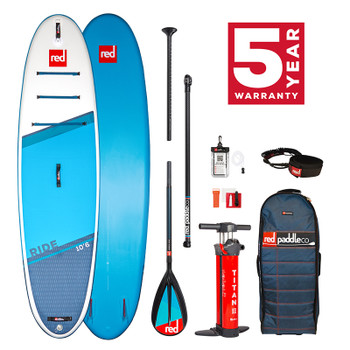 """Red Paddle Ride 10' 6"""" SUP Package  2021 Model"""