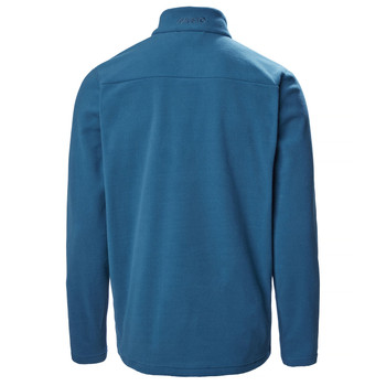 Musto Corsica 100 gm Half Zip - Deep Sea - Back