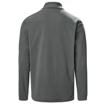 Musto Corsica 100gm 1/2 zip Fleece - Dark Grey 11 - Back