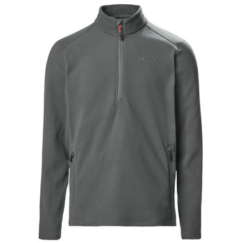 Musto Corsica 100gm 1/2 zip Fleece - Dark Grey 11 - Front