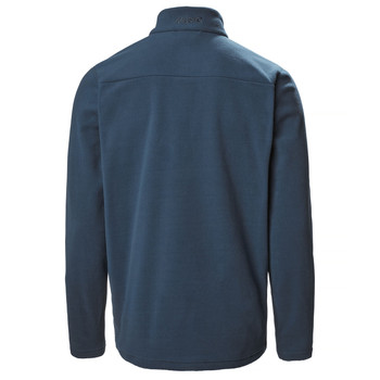 Musto Corsica 100gm 1/2 zip Fleece - Navy 11 back