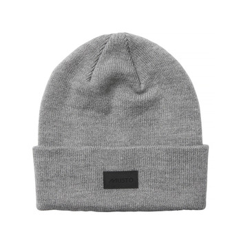 Musto Shaker Cuff Beanie - Front Grey Marl