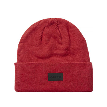 Musto Shaker Cuff Beanie - True Red - Front