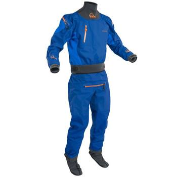Palm Atom Dry Suit - Cobalt/Ocean