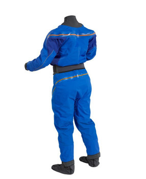 Palm Atom Dry Suit - Women - Cobalt/Ocean - back