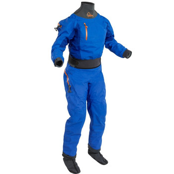 Palm Atom Dry Suit - Women - Cobalt/Ocean - front