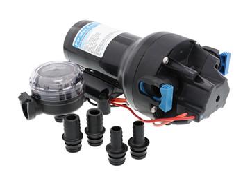 Jabsco Par Max HD5 Water Pressure Pump 40PSI - 12 Volt  Q501J‐115S‐3A