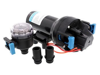 Jabsco Par Max HD6 Water Pressure Pump 60PSI - 12 Volt Q601J‐218S‐3A