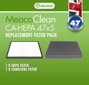 MeacoClean CA-HEPA 47x5 Filter Pack