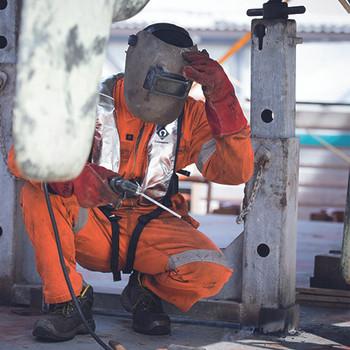 Crewsaver Crewfit Fire Retardant 275N XD Lifejacket - 9255FRA