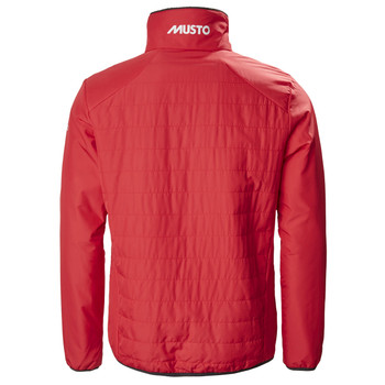 Musto Corsica Funnel Jacket - True Red - Back