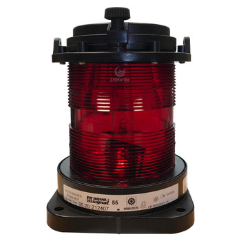 Aqua Signal Series 55 Signal Light - All Round Red
