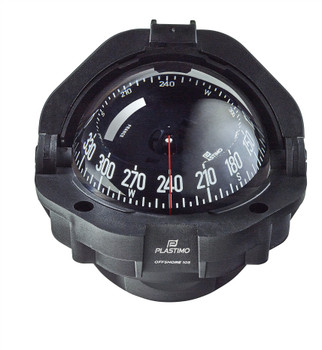 Plastimo Offshore 105 Compass - Black - Conical Card Black  65001