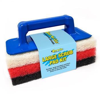 Starbrite Large Scrub Pad Kit