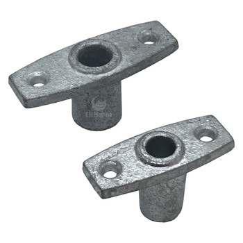 Sowester Galvanised Rowlock Holders with Deep Insert