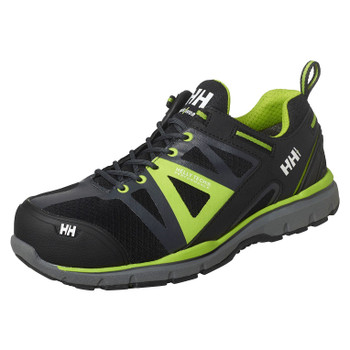 Helly Hansen Smestad Active Shoes - Black/Dark Lime - Front