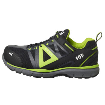 Helly Hansen Smestad Active Shoes - Black/Dark Lime - Side
