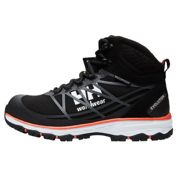 Helly Hansen Chelsea Evolution Lightweight Safety Boots - Black/Orange